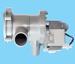 Drain pump housing
